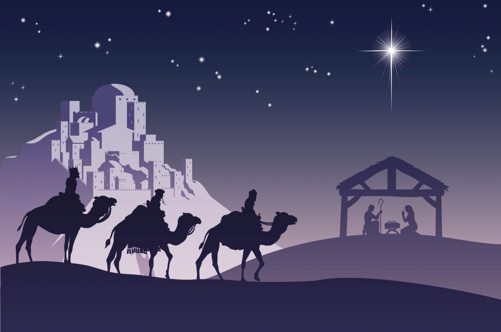 Martorii nașterii: păstorii de la Betleem și magii