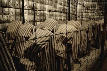 Uniformele prizonierilor din lagărele de concentrare naziste.