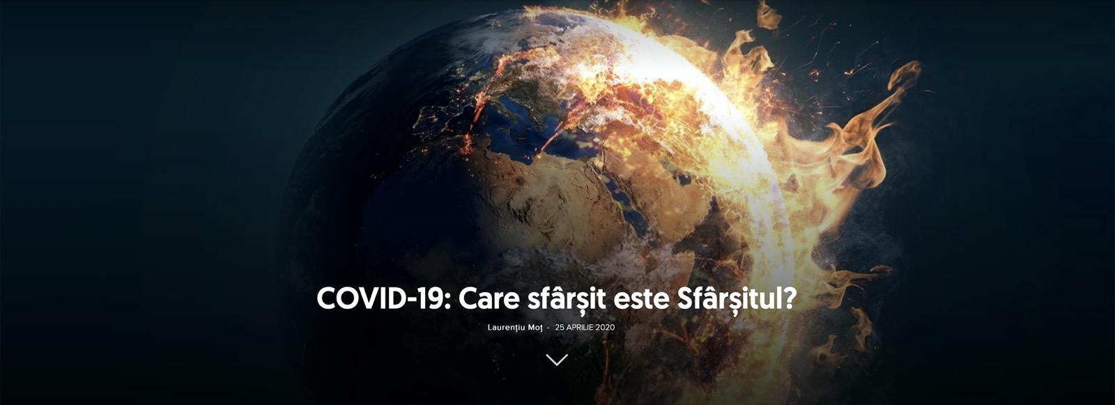 COVID-19: Care sfârșit este Sfârșitul?