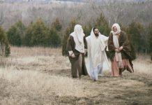 Iisus pe drumul spre Emaus