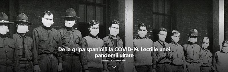 Screenshoot-De la gripa spaniolă la COVID-19. Lecţiile unei pandemii uitate