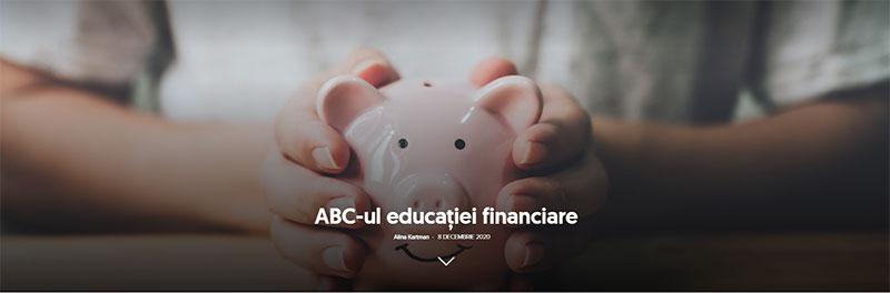 ABC-ul educaţiei financiare