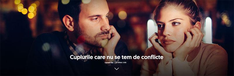 Cuplurile care nu se tem de conflicte