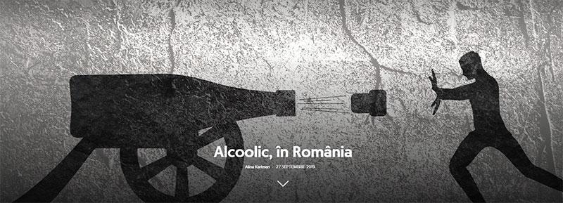 Alcoolic în România