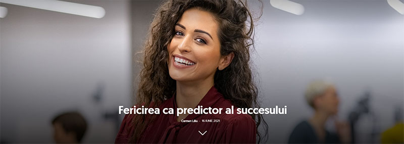 Fericirea ca predictor al succesului